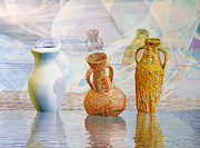 Amphorae Prints - Shipwrecked Memories Print by Cosimo Mannu