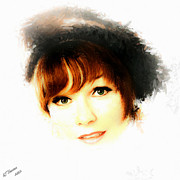 Hollywood Legend Prints - Shirley MacLaine Print by Arne Hansen