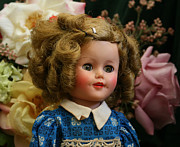 Shirley Temple Posters - Shirley Temple Doll Poster by Marna Edwards Flavell