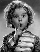 Child Star Posters - Shirley Temple Poster by Everett