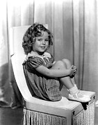 Knees Framed Prints - Shirley Temple In Paramount Publicity Framed Print by Everett