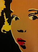 Silk Screen Print Prints - Shirley Temple OOH Print by Siobhan Bevans