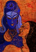 Shiva And Shakti Print by Sonali Chaudhari