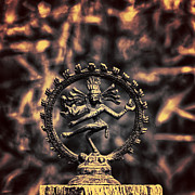 India Metal Prints - Shiva  Metal Print by Stylianos Kleanthous