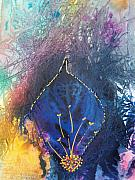 God Mixed Media Originals - Shiva by Vijay Sharon Govender