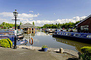 Buildings Prints - Shobnall Marina - Burton on Trent Print by Rod Johnson