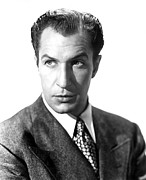 1946 Movies Metal Prints - Shock, Vincent Price, 1946 Metal Print by Everett