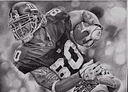 Giants Drawings - Shockey by Raoul Alburg