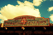 Shows Framed Prints - Shooting Gallery in Old Tuscon Arizona Framed Print by Susanne Van Hulst