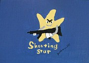 Rifle Painting Originals - Shooting Star by Jeannie Atwater Jordan Allen
