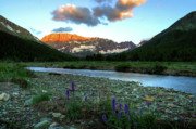 Alpenglow Prints - Shooting Star Sunrise Print by Dave Hampton Photography