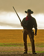 Cowboy Prints - Shootist Print by Ron  McGinnis
