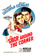 Films By Ernst Lubitsch Prints - Shop Around The Corner, From Left Print by Everett