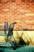 Shopping Cart Prints - Shopping Cart Print by HD Connelly