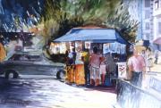 George Siaba - Shopping in the kiosk