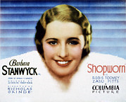 Posth Photos - Shopworn, Barbara Stanwyck, 1932 by Everett