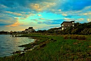 Obx Framed Prints - Shore House Community Framed Print by Adam Jewell