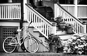 Old School House Photos - Shore Porch by John Rizzuto