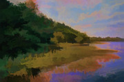 Beautiful Landscape Photos Digital Art - Shoreline by Tom Prendergast
