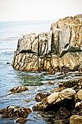 Pebble Photo Originals - Shores of Pebble Beach by Marilyn Hunt