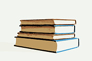Library Digital Art - Short Stack 2 by Marianne Beukema