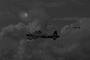 Classic Aircraft Digital Art - Short  Stirling - Forgotten bomber by Pat Speirs