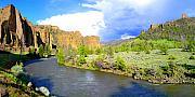 Shoshone River Print by Terril Heilman