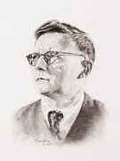 Orchestra Drawings Metal Prints - Shostakovich Metal Print by Craig King
