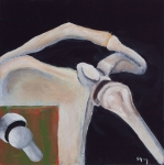 Bones Paintings - Shoulder Function by Sara Young