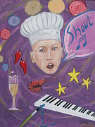 Crawfish Art - Shout by Cecile Smit