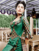 1951 Movies Prints - Show Boat, Ava Gardner, 1951 Print by Everett
