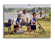 Reeling Photo Posters - Show Grand-mom  Poster by Brian Wallace