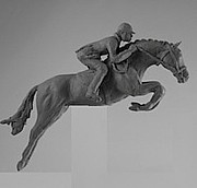 Racing Sculptures - Show Jump                 by Goksin Carey