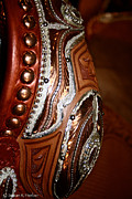 Hand Crafted Art - Show Saddle Details by Susan Herber