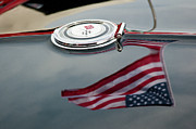 American Flag Framed Prints - Showing the Colors Framed Print by Kurt Golgart