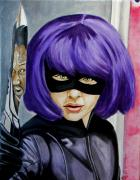 Comic Books Paintings - Shows over MFers by Al  Molina