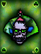 Rock N Roll Digital Art - Shrunken Head by Alfonso  f Gallegos