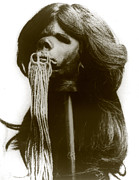Sewn Framed Prints - Shrunken Head, From Ecuador, Circa Framed Print by Everett