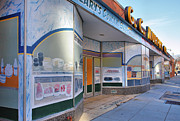Grocery Stores Prints - Shuttered Food Store Print by Steven Ainsworth