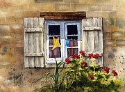 Wash Paintings - Shutters by Sam Sidders