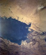 Iraq Prints - Shuttle Photograph Of Kuwait, Iraq & Iran Print by Nasa