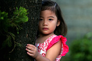 Filipina Prints - Shy Print by Wayward Images
