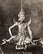 Fingernails Framed Prints - SIAM: DANCER, c1870 Framed Print by Granger