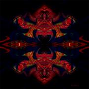 Posters On Digital Art - Siamese Twins by Brad Robertson