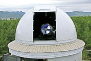 Aperture Prints - Siberian Federal University Telescope Print by Ria Novosti