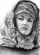 Heavens Drawings - Sibylla by Hira Khattak