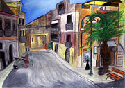 Quaint Drawings - Sicily by Magda Candiliari
