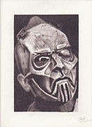 Slipknot Framed Prints - Sid Wilson Framed Print by Ryan Boyd
