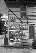 Esso Prints - Side Of A Store, Showing Advertising Print by Everett