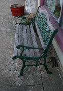 Window Bench Photos - Sidewalk Seating by Nina Fosdick